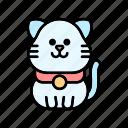 cat, kitten, pets icon