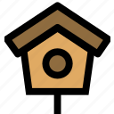 bird, bird house, house, pets icon