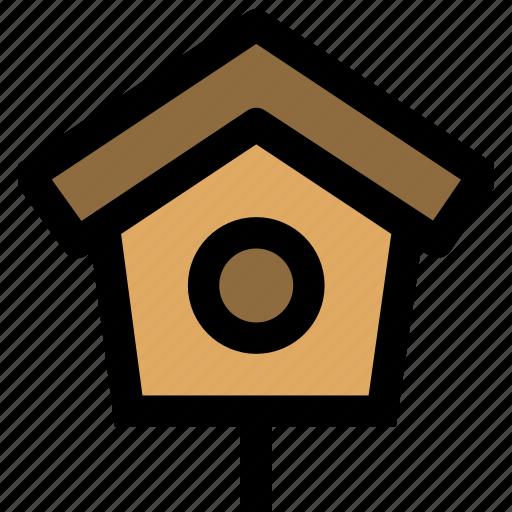 bird, bird house, house, pets icon