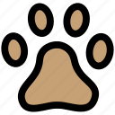 animal, animals, footmark, footprint, pet, pets, track icon