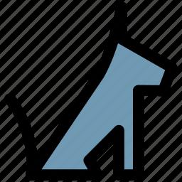 defend, dog, guard, pets icon