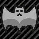 bat, fly