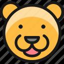 bear, head