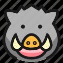 wild, pig