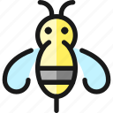 flying, insect, bee