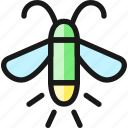 flying, insect, moth