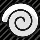 snail, shell