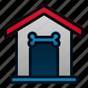 animal, dog, house, pet, veterinary icon
