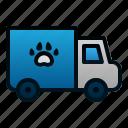 animal, pet, transportation, truck, vehicle, veterinary
