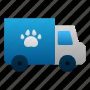 animal, pet, transportation, truck, vehicle, veterinary icon
