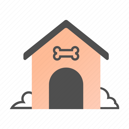 animal, dog, dog house, doghouse, house, kennel, pet icon