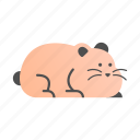 animal, cute, fluffy, furry, hamster, mouse, pet icon