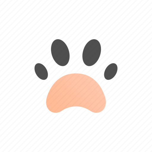 Animal, dog, foot, paw, pet, print, track icon - Download on Iconfinder