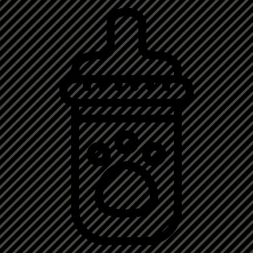 Animal, bottle, milk, pet icon - Download on Iconfinder