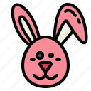 animals, easter, pet, rabbit icon