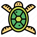 animal, turtle, wildlife, zoo icon