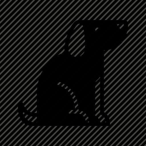 animal, dog, friend, labrador, pet, petting, puppy icon