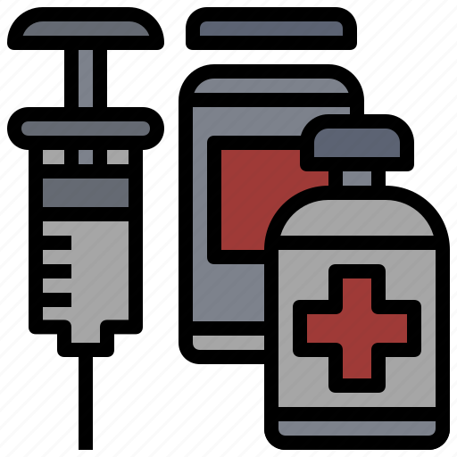 injection, syringe, treatment, vaccination, vaccine, vaccines icon
