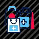 bag, drugs, ecommerce, medication, purchase, shopping, store