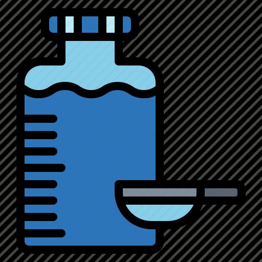 hospital, medicines, pills, syrup icon