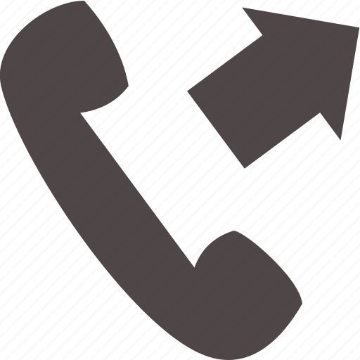 arrow, communication, device, electronics, phone icon
