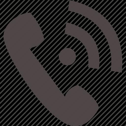 communication, device, electronics, phone icon