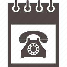 communication, device, electronics, notebook, phone icon