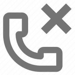 close, delete, phone, telephone icon