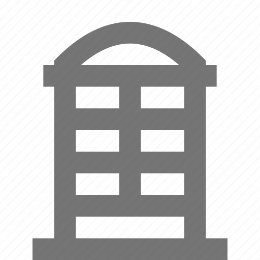 booth, telephone, telephone booth icon
