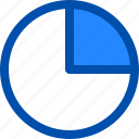 cart, data, drive, pie, storage icon