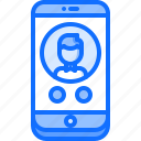 call, interface, phone, smartphone, telephone, ui, watch icon