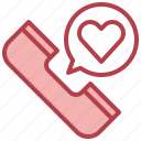love, valentines, romance, phone, call