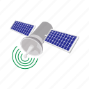 cartoon, communication, icon global, satellite, science, space, telecommunication icon