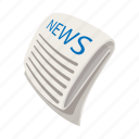 article, business, cartoon, media, new, paper, publication icon