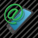 att, cartoon, communication, connection, email, internet, network icon