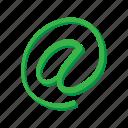 address, cartoon, communication, email, internet, mail, message icon