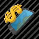 cartoon, dollar, exchange, finance, rich, savings, wealth icon