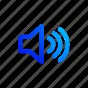 maximal volume, sound, speaker, volume