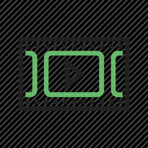 media, movie, music, play, player, sound, video icon