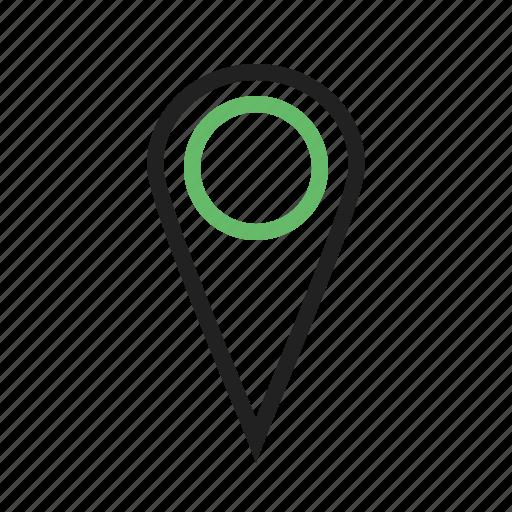 address, find, gps, locator, navigate, navigation, pointer icon