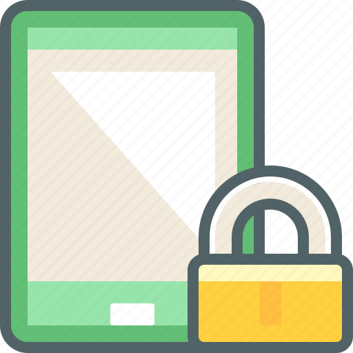 lock, phone, protection, safe, secure, smart, smartphone icon