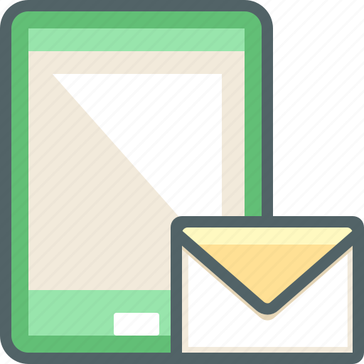 email, leeter, mail, message, phone, smart, smartphone icon
