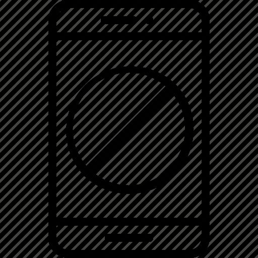 block, device, mobile, phone, smartphone icon icon