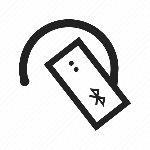 bluetooth, headset, music, radio, signal icon