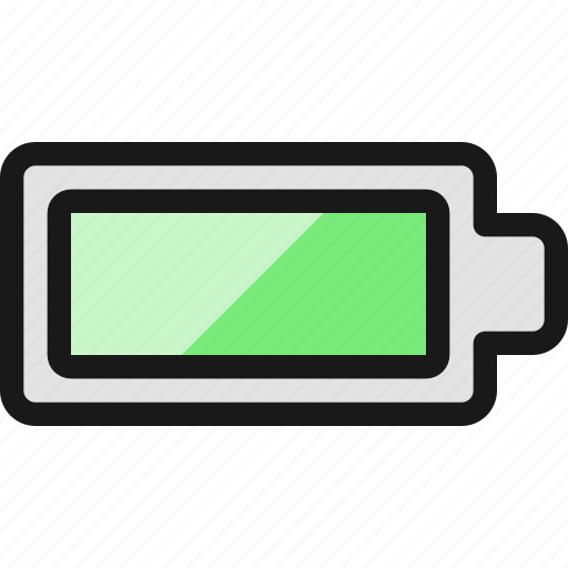 Full, battery, charging icon - Download on Iconfinder