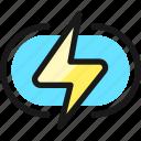 charging, flash