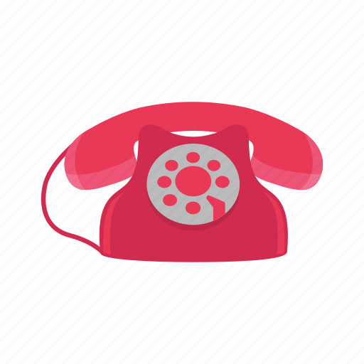 home phone, office phone, rotary phone, telephone icon