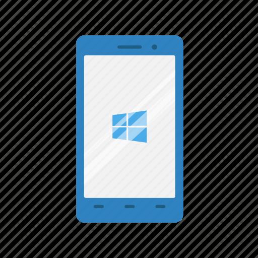 message, mobile, phone, windows icon
