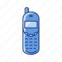 cell phone, communication, phone, telephone icon