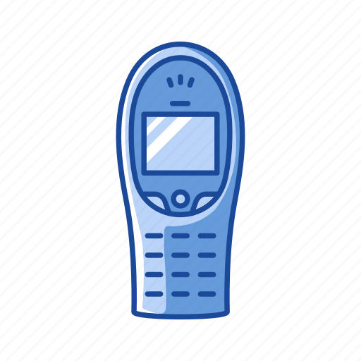 cell phone, keypad phone, nokia, phone icon